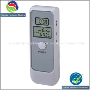 Digital LCD Display Breath Alcohol Tester with LCD Clock (AT60109)