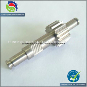 Customized Gear Shaft with Precision Machining
