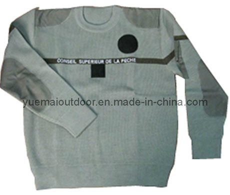 Military Sweater in Khaki with High Quality