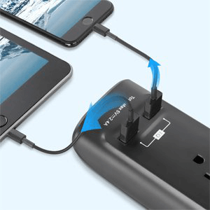 2 Smart USB Ports