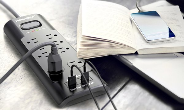 HOLSEM Power Strip Surge Protectors--Beyond Your Expectation