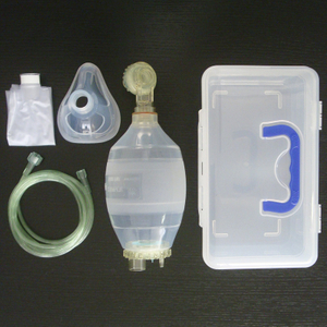 Manual silicon resuscitator (Adult type)