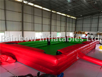 Big Indoor Inflatable Foot Pool Table Snooker Ball Game for Adults
