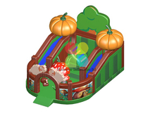 Big Size Commercial Pumpkin Farm Inflatable Combo for Children