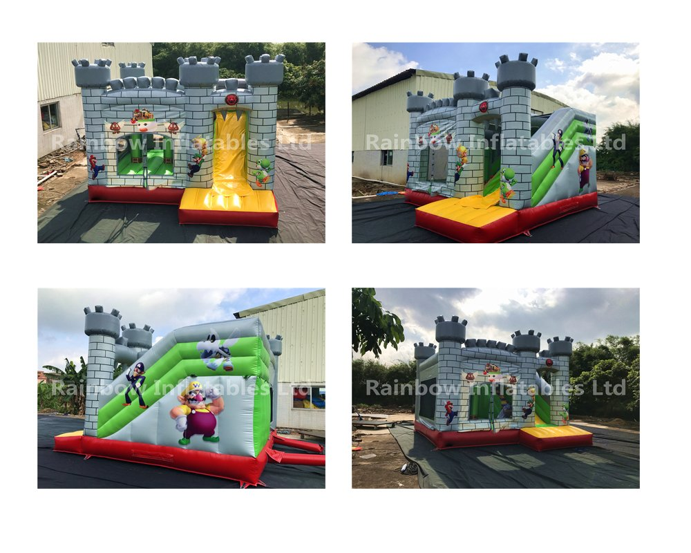 how to clean inflatable bouncers