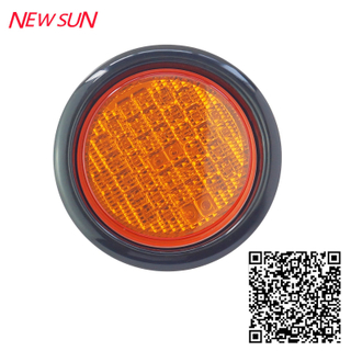 "LED 4 "" ROUND STOP/TURN/TAIL LIGHT (TK - TL801)"