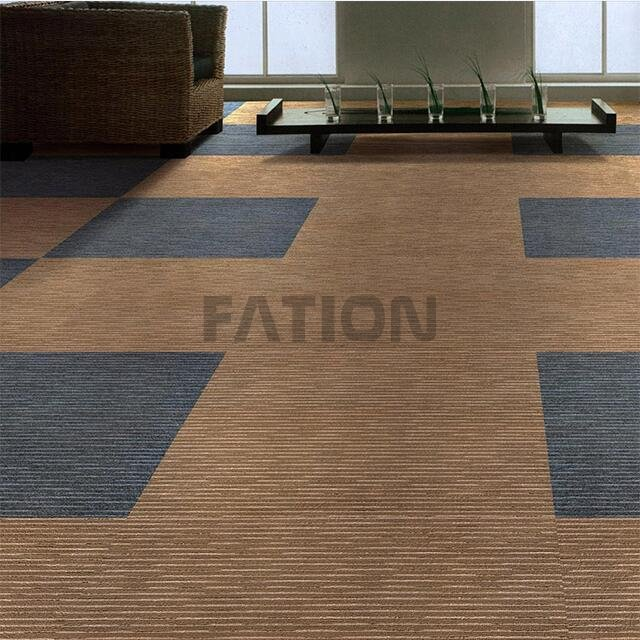 high quality pvc backing nylon carpet tiles