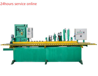Skiving machine for making sanding belt automatic adhensive