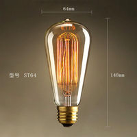St64 40W, 60W Edison Lamps Made in China