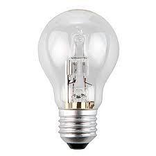 A55 Clear Quartz Tungsten Halogen Saving Lamp