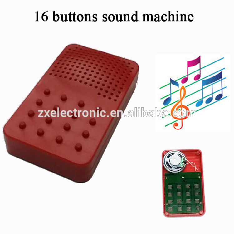 102*60*18mm 80 Seconds Music Machine With 16 Different Songs