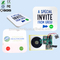 Recordable music light sensor sound modules for postcard sound chip