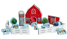 Wooden Kids Farm Toys