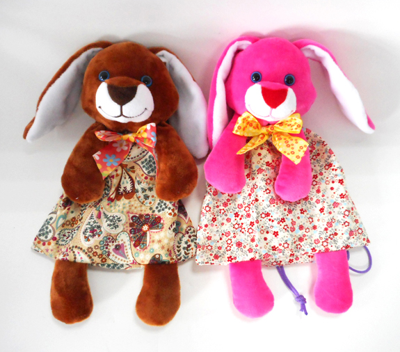 Funny Easter Rabbit Floral Candy Bags Gifts for Kids