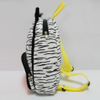 Plush Soft Toy Zebra School Backpack for Kids