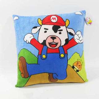 Custom Factory OEM Soft Plush Cows Pillow