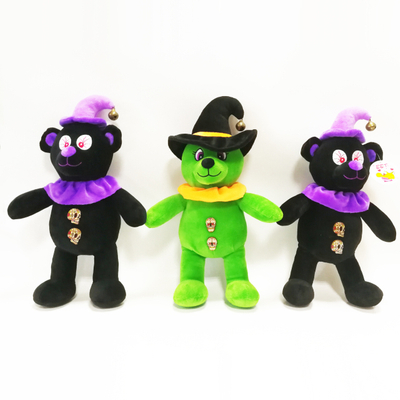 China Supplier Home Decoration Halloween Terror Bears Plush Toys