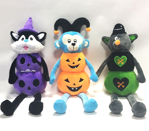 Halloween Pumpkin Animal Dolls Plush Toys Halloween toys