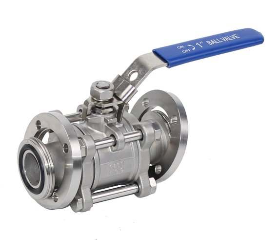3PC Stainless Steel Vacuum Ball Valve