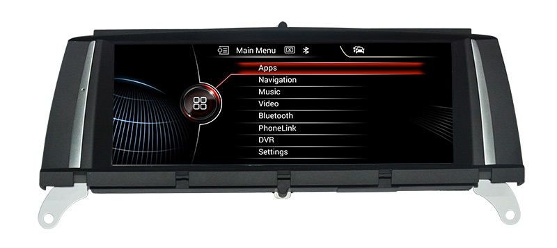 "8.8"" Touchscreen I-Drive Bmw X3 F25 Cic Car Dvd Gps Android 3D GPS Navigation Multimedia WIFI USB SD"