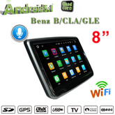 "8""Anti-Glare Benz A/B/CLA/GLA Car Stereo Carplay"