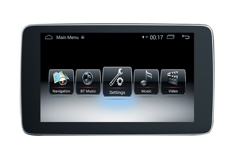 "9""Anti Blue Ray Benz GLC C V X (NTG5.0/5.1) Android 9.0 Car Stereos 3 X USB - USB Bis Maximal 32GB"
