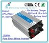 12V/24V 1500Watt Pure sine wave solar battery inverter ups inverter battery charger