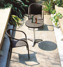 Bistro Set Outdoor Garden Furniture Rattan Table and Chair