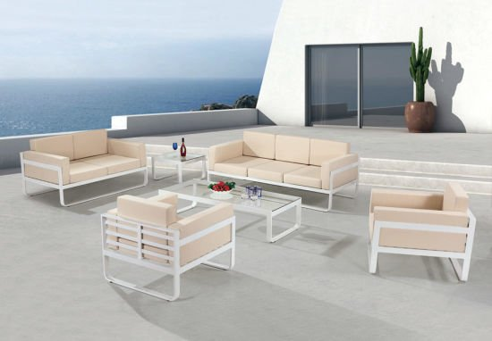 Garden Patio Wicker / Rattan Sofa Set - Outdoor Furniture (LN-185)