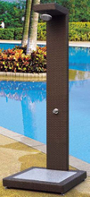 Garden Rattan/Wicker Shower for Outdoor Furniture (LN-102)
