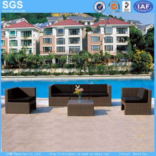 Hotel Outdoor Furniture Holiday Village Rattan Sofa Set