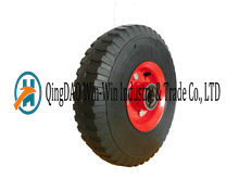 10 Inch Solid Rubber Wheels for Hand Trucks and Trolleys