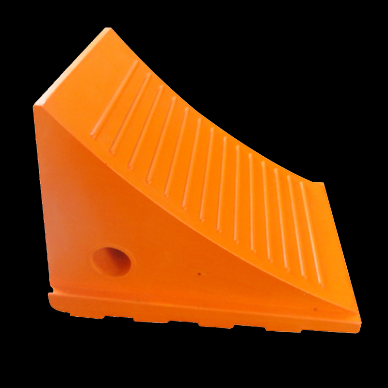 NWH-WCK01 5T Polyurethane wheel chock for mining truck safety