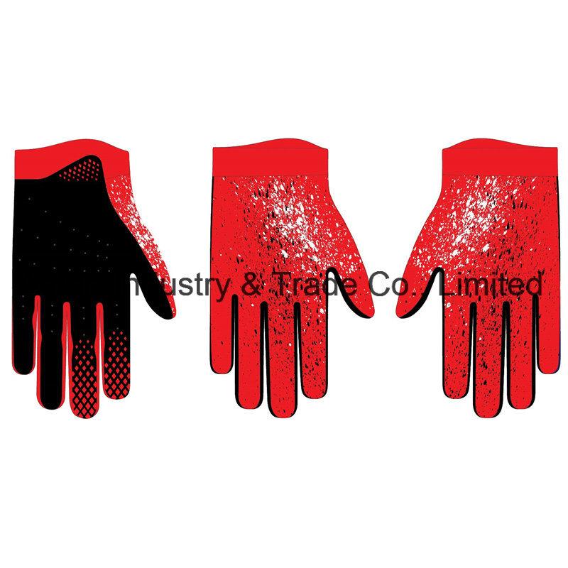 Custom Design MTB Gloves Outdoor Sports Racing Glove