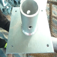 Shoring Frame Scaffolding Base Plate for Sale