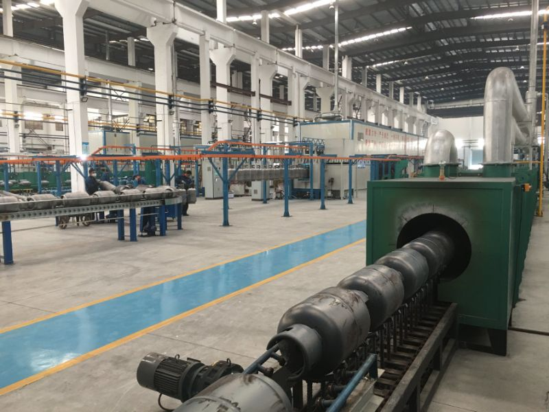 Normalizing Furnace for LPG Gas Cylinder Production Line