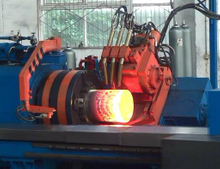 CNG Steel Cylinder Hot Spinng Machine