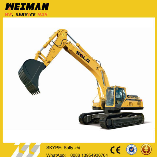 Largest Hydraulic Excavator LG6400e Made by Volvo China Factory