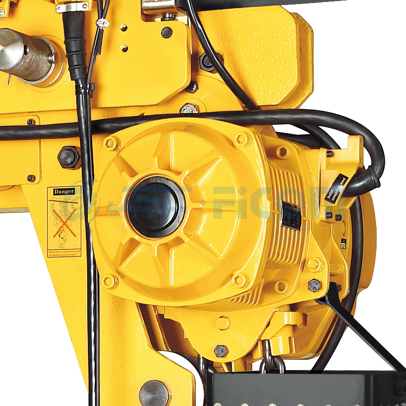 Low Headroom Electric Chain Hoist Model: STD-L (Capacity : 0.5 to 10Ton, Dual Speed)