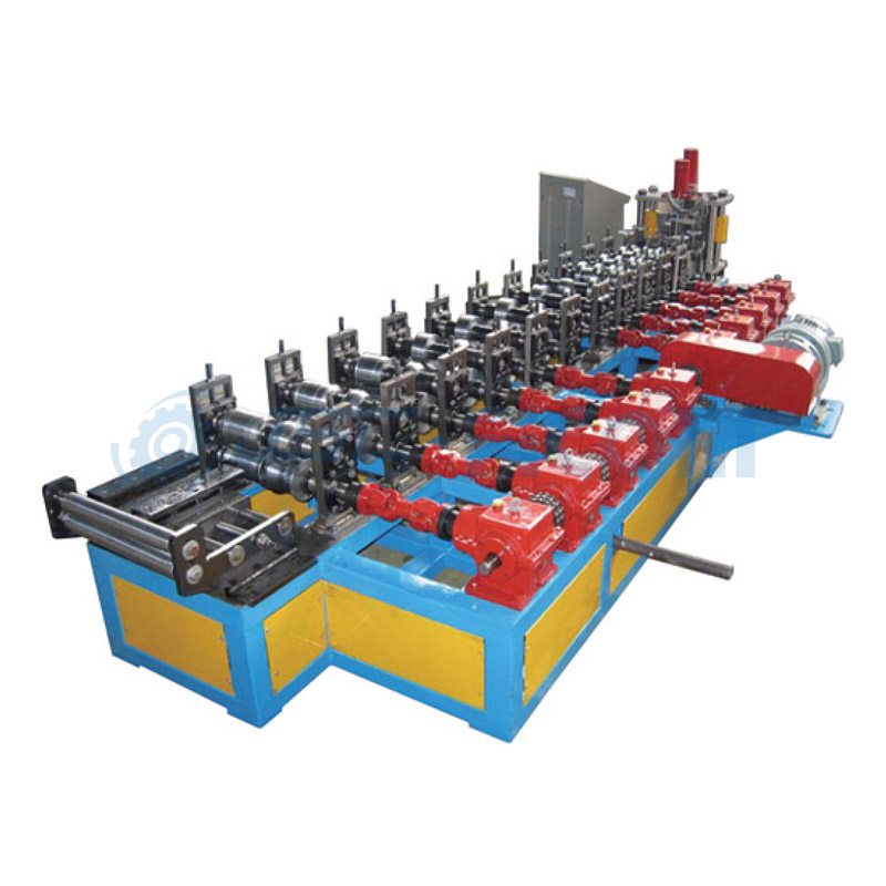 Stud-track forming machine