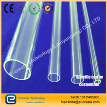 Quartz tube. Sterilization lamp outside the water casing, quartz water treatment casing