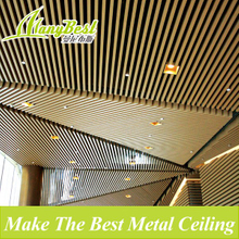 3d Aluminum decorative lobby wall tiles and ceiling tiles design