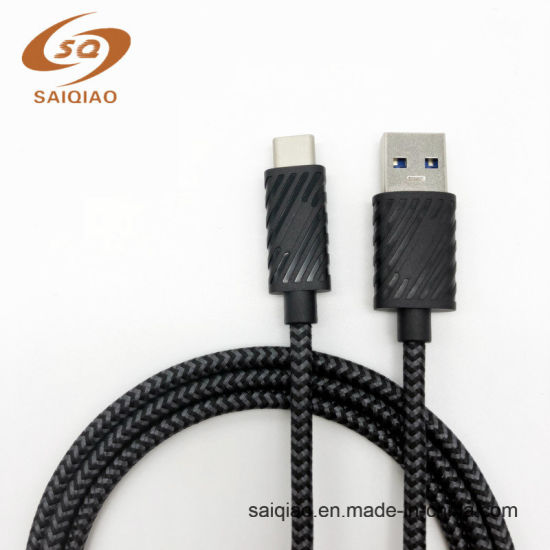 USB3.0 a to C 5g PVC+Braided Cable for Huawei