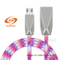 Hot Sell USB V8 Charging Data Cable with Zinc Alloy Nylon Braided