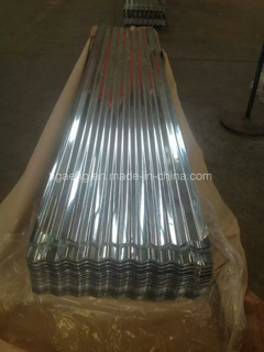 Size 0.25X665 mm Zinc Corrugated Roofing Sheet for Cameroon