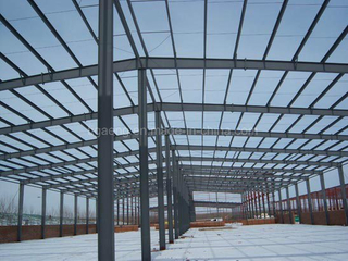 Good Quality Heavy-Duty Workshop/Steel Structure Project for Mombasa