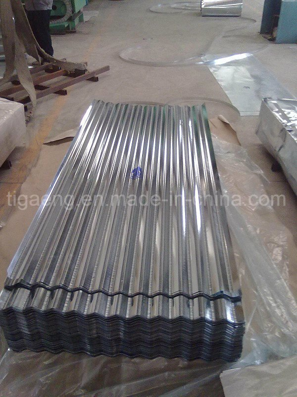 Good Quality Corrugated/Trapezoidal Galvanized Steel Roofing Tile
