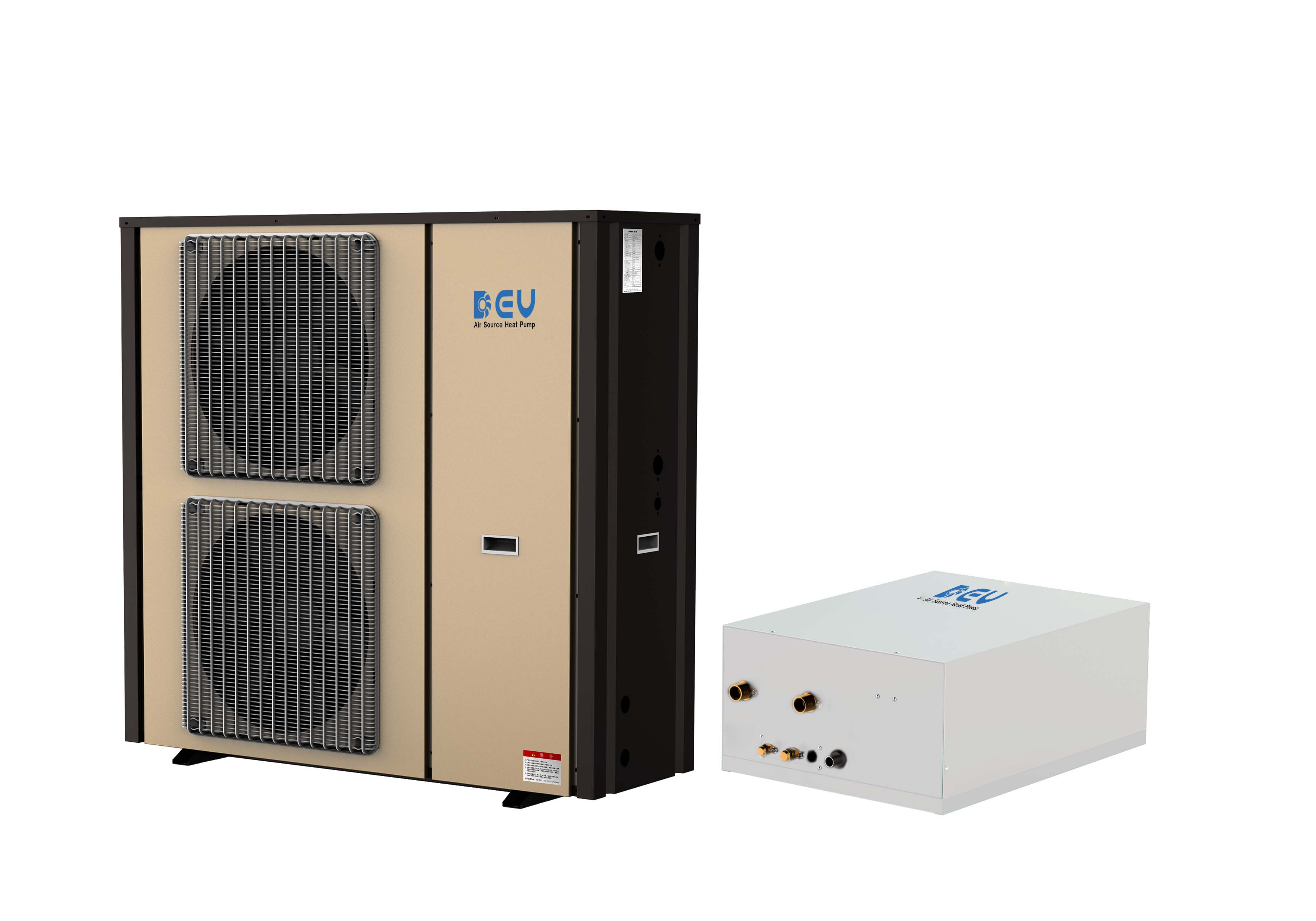 Residential DC Inverter Split Type Hotwater and Flooring Heating, Cooling Series
