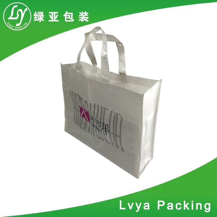 With lamination outside or inside Hot sale foldable New style eco friendly non woven shoulder bag