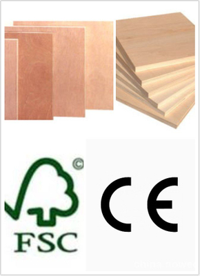 E1 Glue Commercial Plywood Bingtangor Face Poplar Core